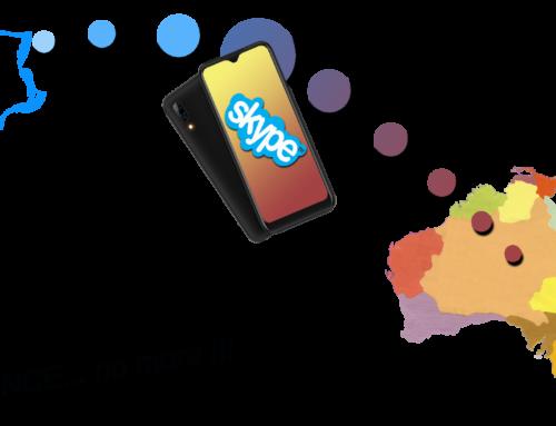 Skype réduit la distance pour les cours !