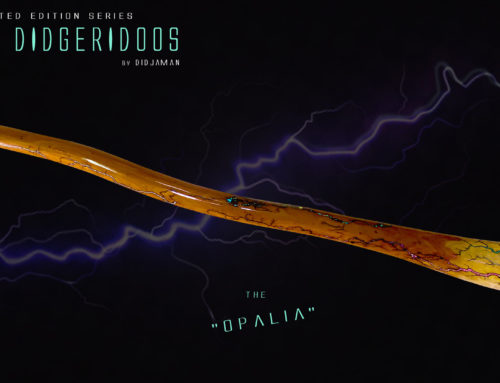"""Didgeridoo Tesla """"OPALIA"""""""