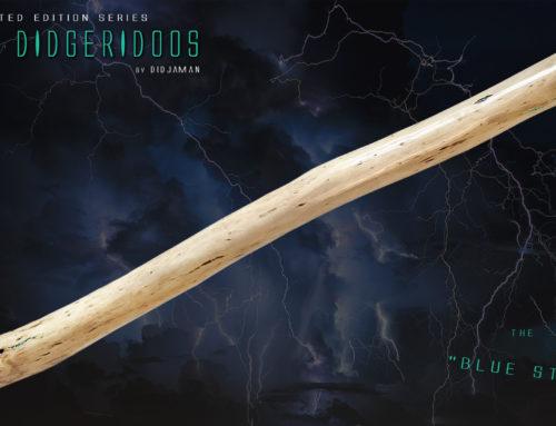 "Didgeridoo Tesla ""BLUE STONE"""