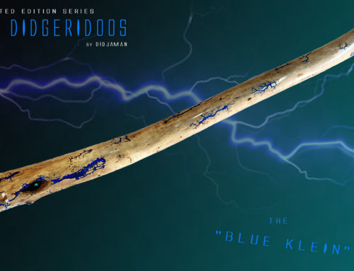 "Didgeridoo Tesla ""BLUE KLEIN"""